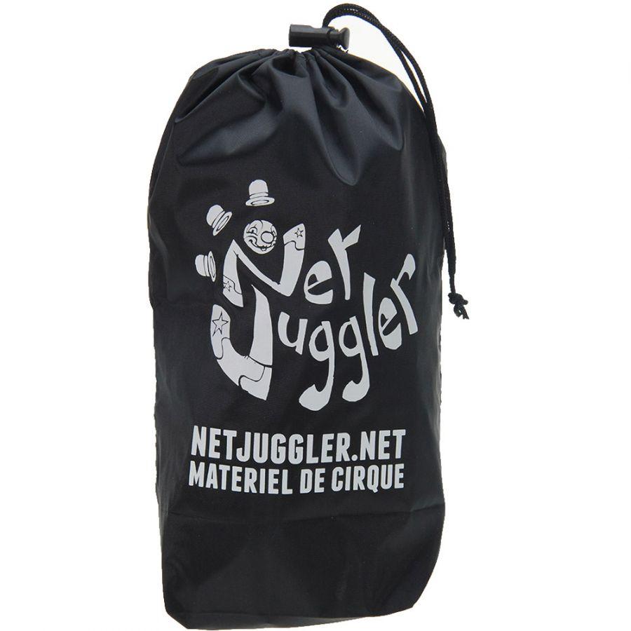 Diabolo-Gyro-Free-Jaune-Ficelle-10m-Jaune-Baguettes-Alu-dore-Sac