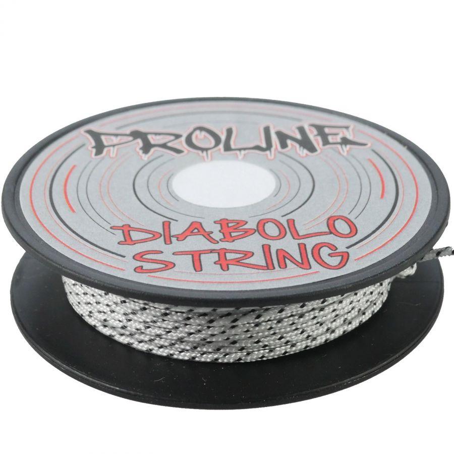 Diabolo-Orbiter-Roulements-Jaune-Bag-Alu-dore-Ficelle-10m-Blanc-Sac