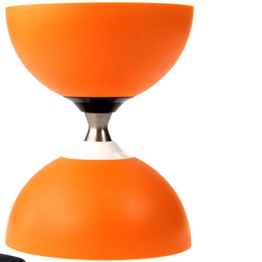 Diabolo-Jazz-FREE-Orange-Baguettes-Alu-dore-Ficelle-10m-Blanc-Sac